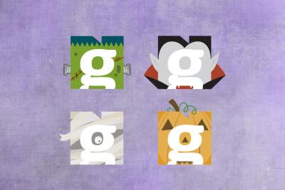 Halloween Inspired Logos
