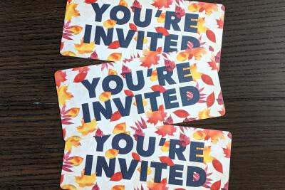 Furniture Market Invite